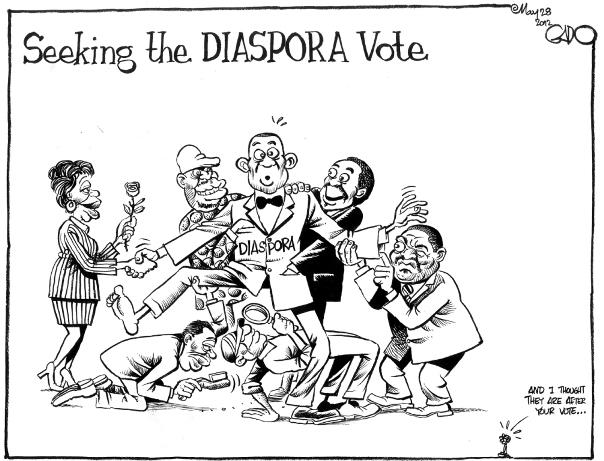May 28 12 Seeking the Diaspora Vote