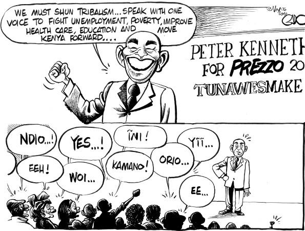 Peter Keneth for President