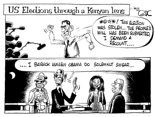 Nov 09 12 US Elections through a kenyan lens