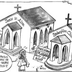 Too much politics in the church or too much church in politics