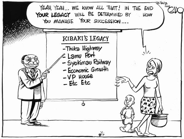 Nov 18 12 Kibaki's Legacy II