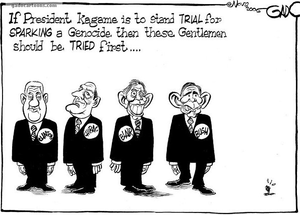 These Gentlemen should be tried first before President Kagame