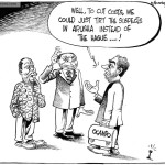 To cut costs, we could just try the suspects in Arusha …