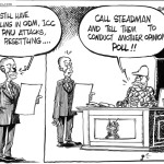Call steadman and tell them to conduct another opinion poll