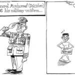 If General Musharraf(Pakistan) sheds his military uniform