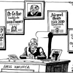 Amos Kimunya in office