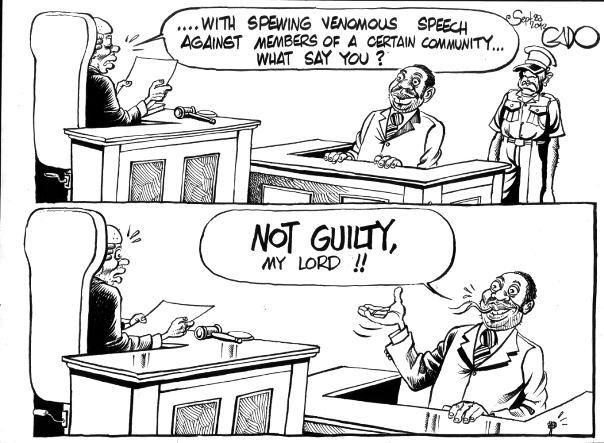 Sept 280 12 NOT GUILTY says Waititu