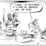 I agree, we should split it in half, so everybody gets her share! #Devolution