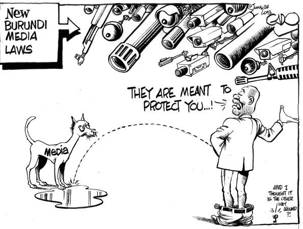 New Burundi Media Laws