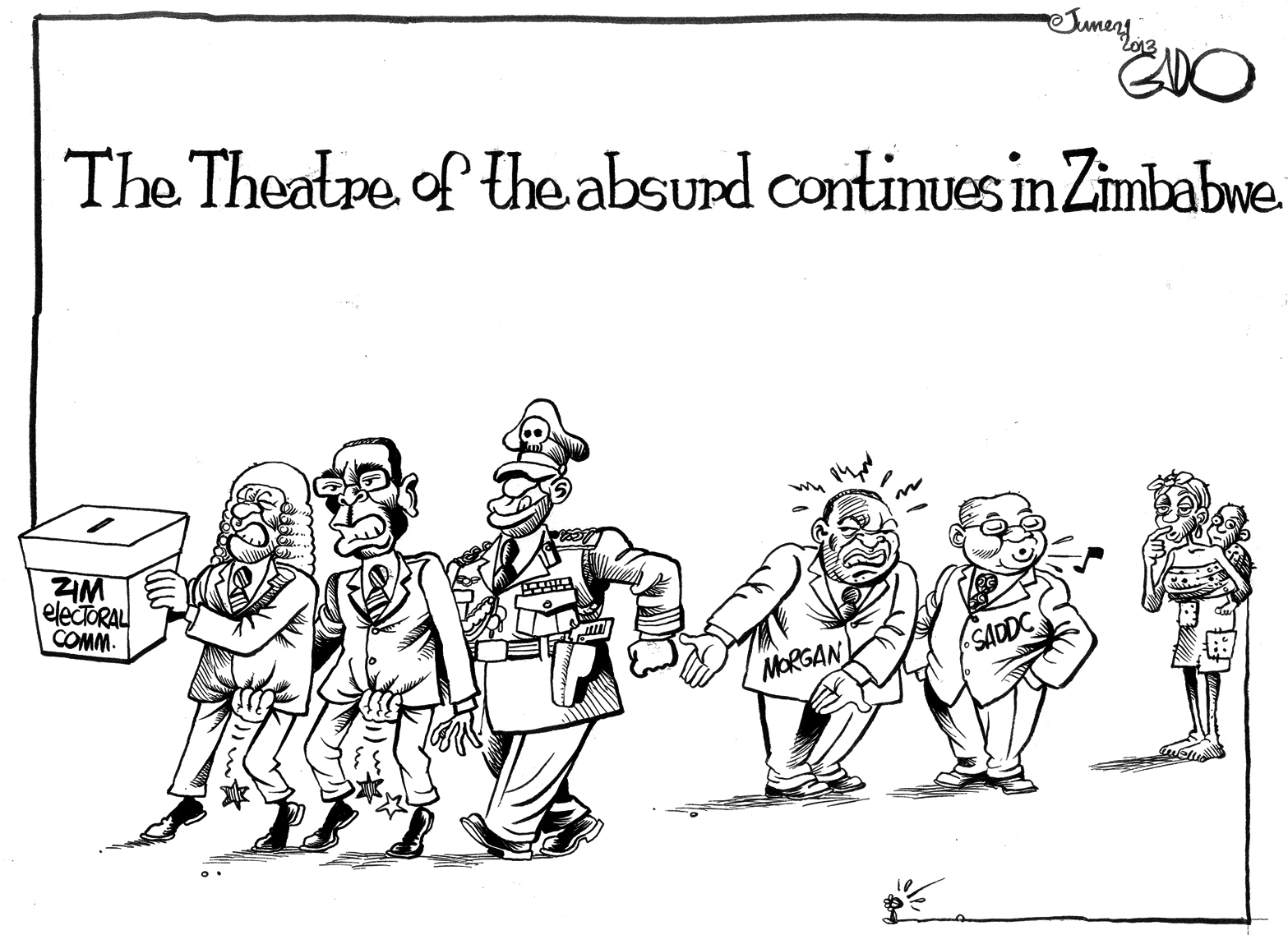 The Theatre of the Absurd continues in Zimbabwe - Gado