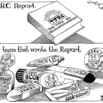 The team that wrote the TJRC report