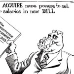 MPs ACQUIRE more powers to set their salaries in new BILL