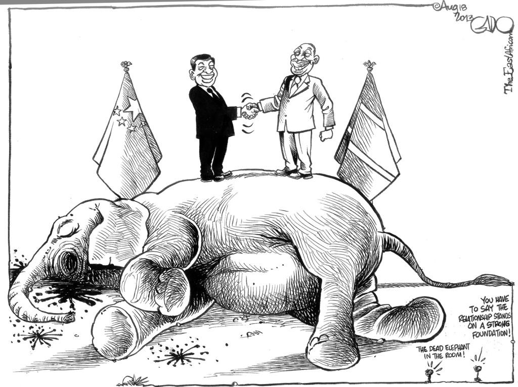 Aug 18 13 Kenya-China Relationship and Ivory Trade