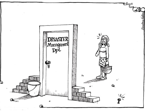 disaster management department