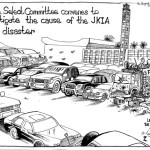 House select committee convenes to investigate the cause of the JKIA fire disaster. Leaving all the evidence outside…!
