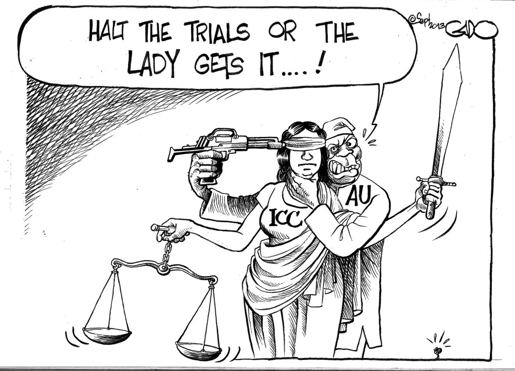Sep 20 13 African Union on the Kenya  ICC trials