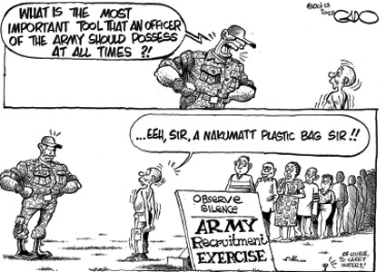 ARMY Recruitment Exercise #KDF
