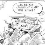 CORD cruising at a high altitude…