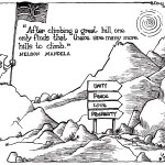For Kenya, Many more hills to climb