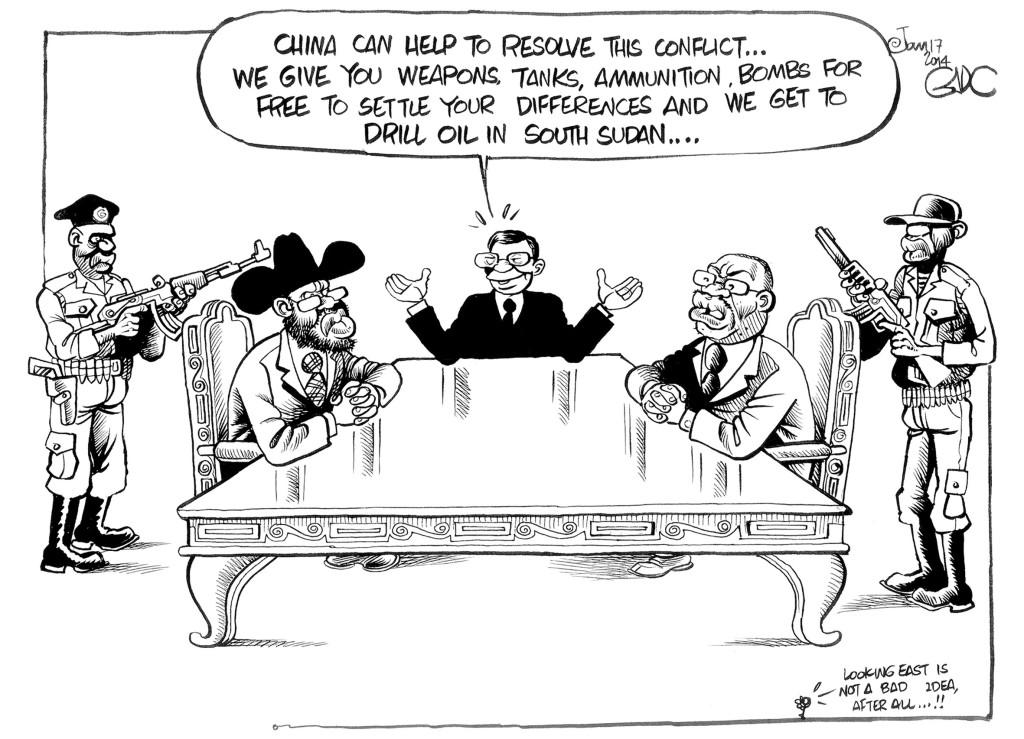 Jan 17 14 China and South Sudan