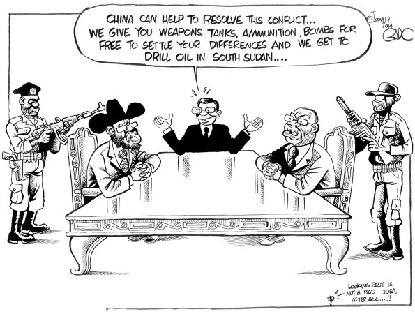 China offering a helping hand in South Sudan!