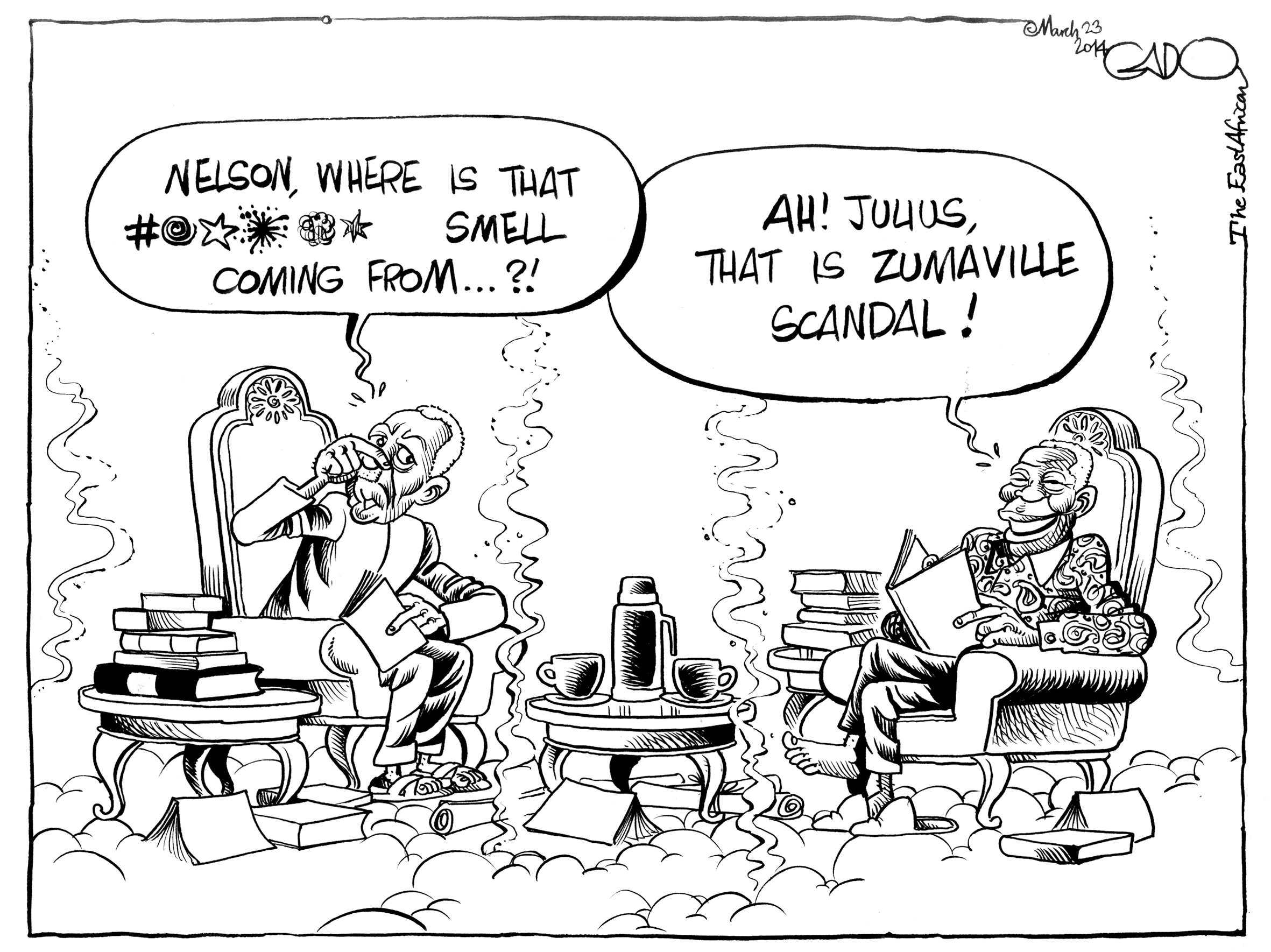 Image result for the cartoons of julius nyerere
