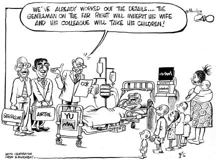 Safaricom Airtel dividing Yu #deal