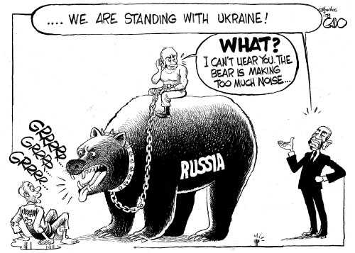 Russia, Ukraine and Obama