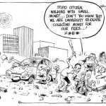 University Students Collecting Money For Fees