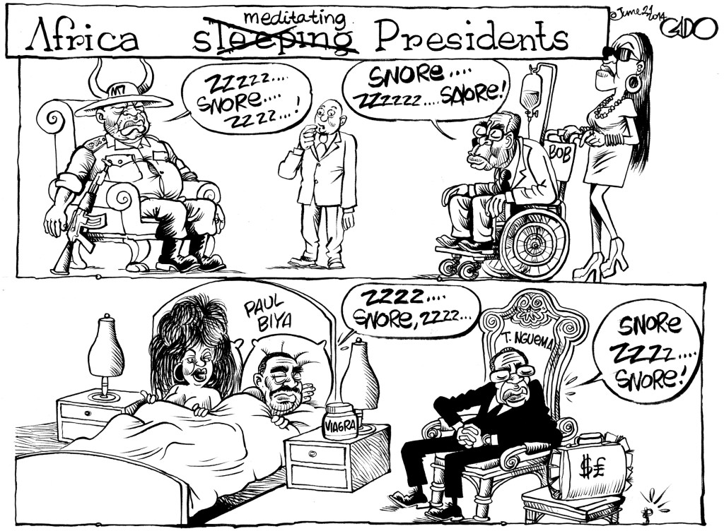 June 21 14 Africa _meditating_ Presidents