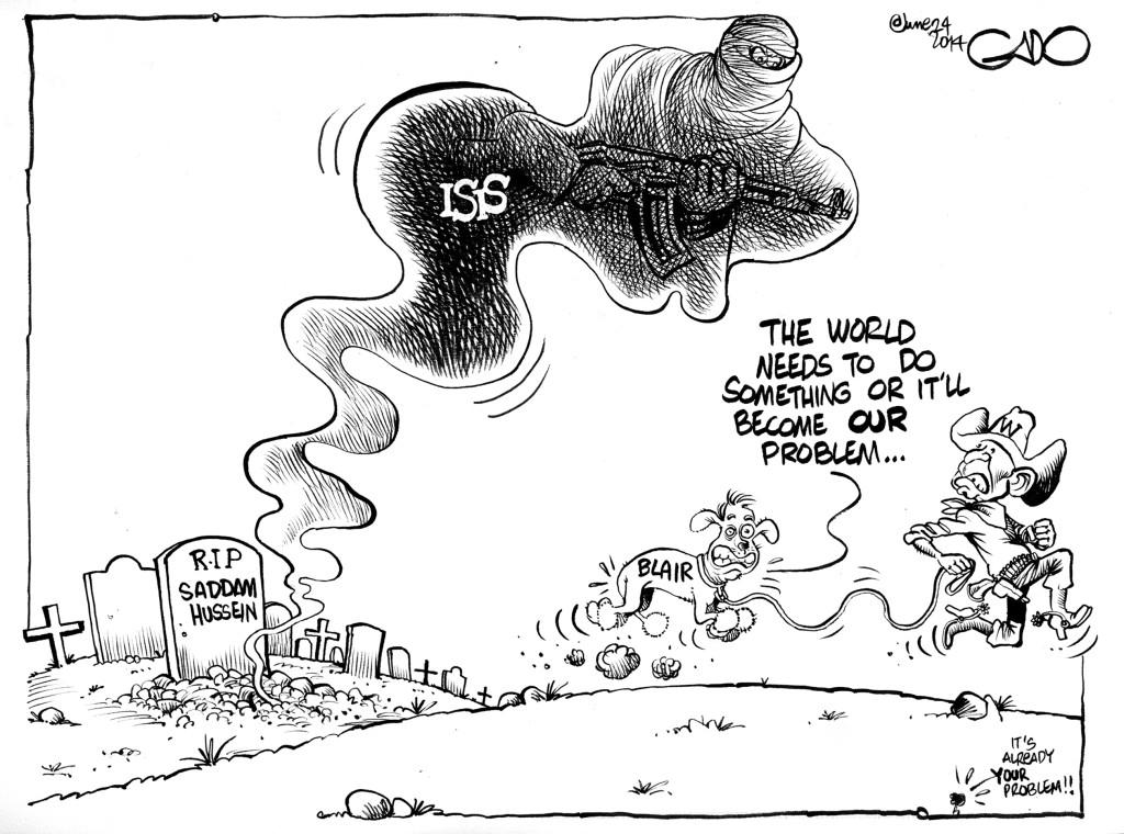 June 24 14 W Bush, Blair and ISIS