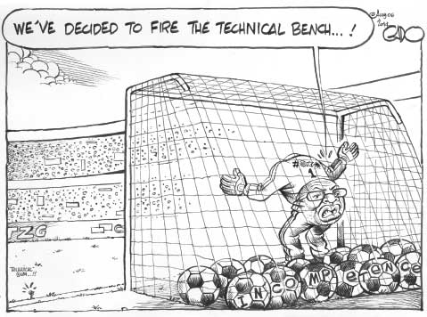 FKF Fires Harambee Stars Technical Bench…!