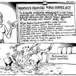 Wanjiku's proposed public service act