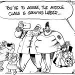 You've Got To Agree, The Middle Class is Growing Larger…!