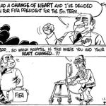 Change of Heart for FiFA's Sepp Blatter and Robert Mugabe!