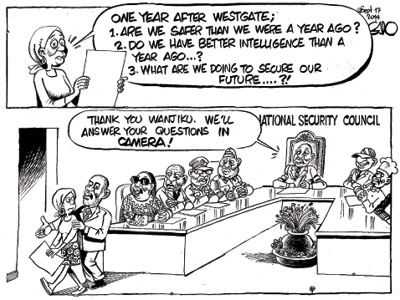 One Year After Westgate, Are We Safer?