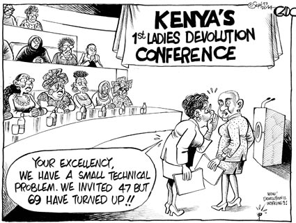 Kenya's 1st ladies Conference!