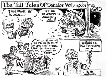 The Tall Tales of Senator Wetangula