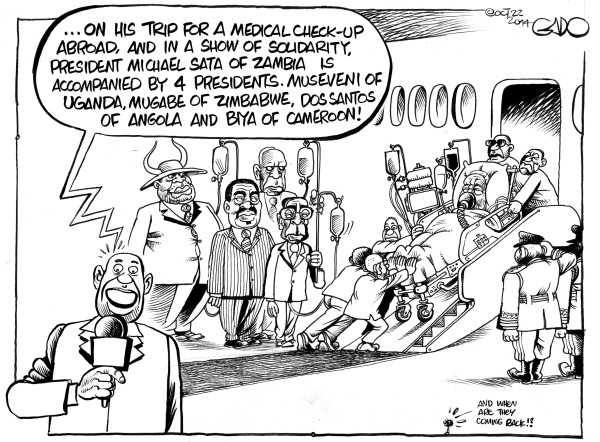 Zambian cartoons