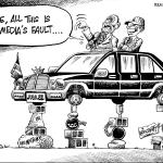 Uhuru Kenyatta: It's all the Media's fault…!