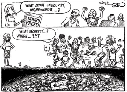 Uhuru Freed…. State of the IDP's?