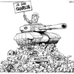 Bibi, Palestine and Je  Suis Charlie