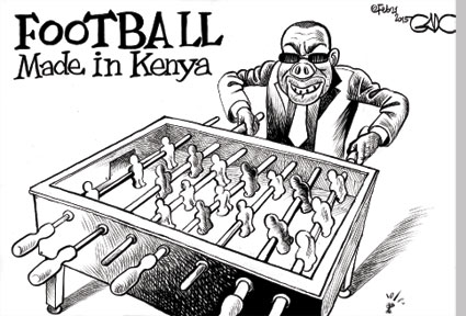 Football Made In Kenya