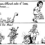 We have different sets of laws for Women & for Men…