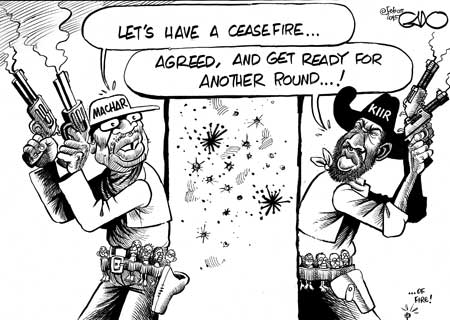 Kiir Vs Machar in South Sudan