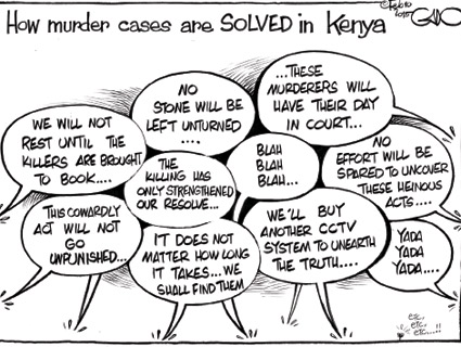 How Murder Cases Are Solved In Kenya