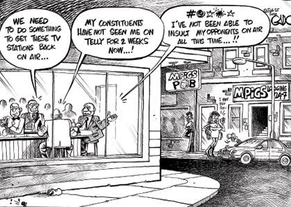 Why MPs want TV back on air #DigitalMigration