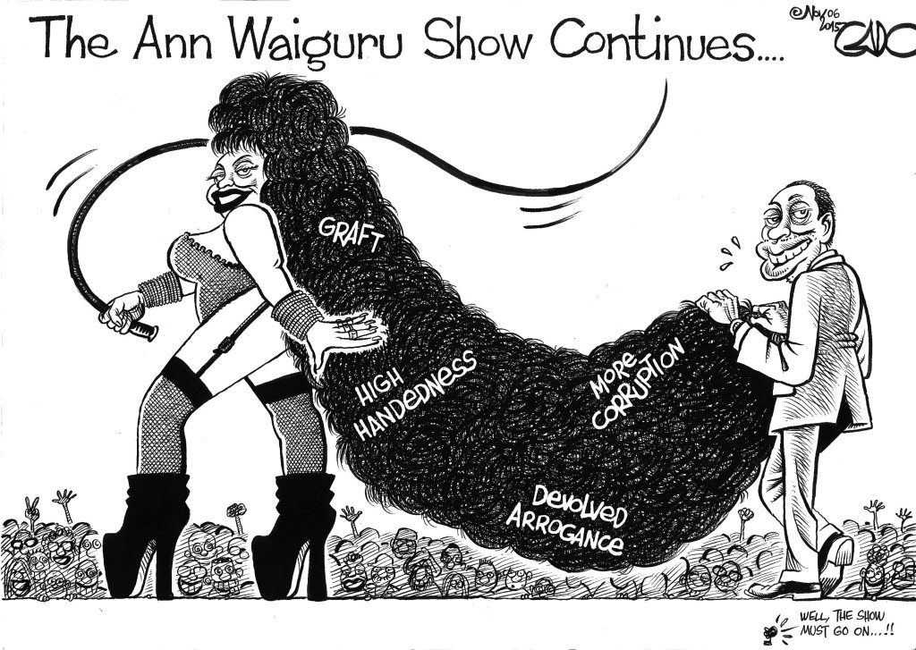 Nov 06 15 The Ann Waiguru Show