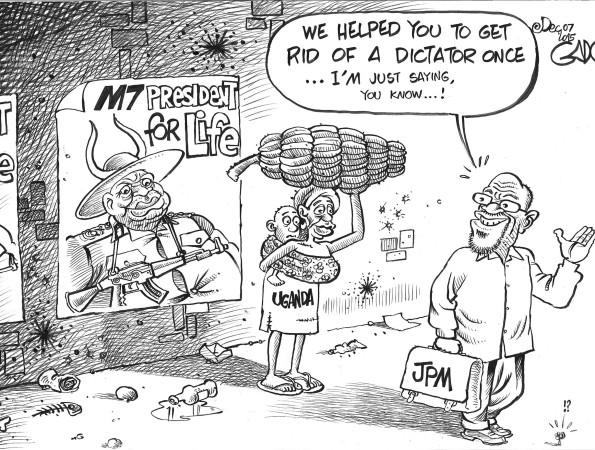 JP Magufuli, Museveni and Uganda