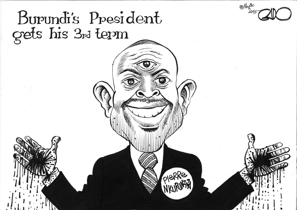 Nov 30 15 Burundi's President Gets A 3rd Term